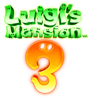 Luigi's Mansion 3 logo.